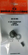 Quickboost 1/48 P-47D Thunderbolt Motor para Tamiya # 48005