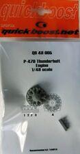 Quickboost 1/48  P-47D Thunderbolt Engine for Tamiya # 48005