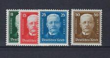 ALLEMAGNE Deutsches Reich 1927 Yv&T 394/97* mh* 80è Président Hindenburg Complet