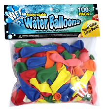Biodegradable Water Balloons 100 pack