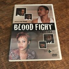 Blood Fight 3 & 4 DVD african movie GHANA gangster RARE must have