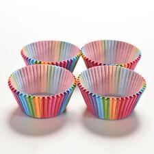 Moule à gâteau plateau doublure cuisson muffin arc en ciel tasse papier 100pcs
