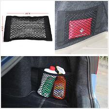 Portable Car Trunk Seat Rear Storage Pocket Nylon Elastic Net Bag Fixed Sundries