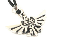 The Crest of Hyrule, Handmade pewter pendant, Overcome all obstacles, courage