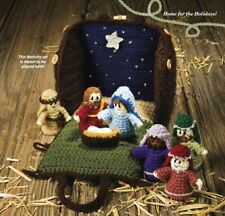 (52) Crochet Pattern for Nativity Set - meant to be played with!