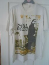 More details for paul rodgers muddy water blues tour tee shirt 1993 xl