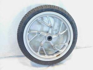 "BMW K1200 K1200R K1200S & K1200GT K1300GT Silver Front Wheel Rim & Tire 17x3.5"""