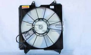 Driver Left Engine Cooling Fan Assembly TYC 601190 for Acura RDX Honda Accord