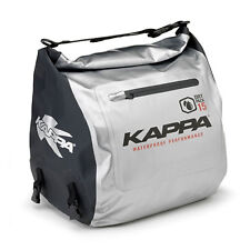 Kappa By Givi Dry Pack Waterproof Tunnel Tail Bag - Roll Top Closure Silver 15L