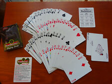 Vintage 1998 Budweiser Lizard Playing Cards Anheuser-Busch Advertising (Used)