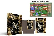 Zelda The Legend Of Link Complete Box Set New Sealed NES