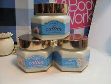 Bath and Body Works ( 3 ) ~ Sheer Cotton & Lemonade ~ Body Souffle 7.4 oz each