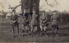 WW1 officer group & SSM Signaller Norfolk Yeomanry