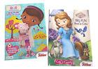 Sofia the First  Doc McStuffins Kids Coloring Book Activity Books Disney Junior