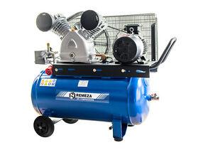 Remeza Druckluft Kompressor 4 kW/400 Volt/10 bar/ 90 l Liter Kessel, 690 l/min