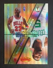 Michael Jordan 1997-98 Bowman's Best Mirror Image Refractor #M11 GEM MINT BEAUTY