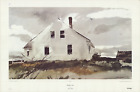 ANDREW WYETH Bradford House 23 x 35 Offset Lithograph