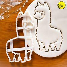 Alpaca cookie cutter | Cute alpacas llama lama animal farm baby shower biscuit