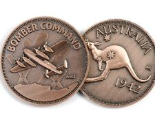 WW11  Bomber Command (RAAF) Penny Medallion *NEW *Remembrance Day * ANZAC Day
