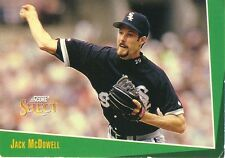 Collectible Score Select Jack McDowell Pitcher White Sox 1992 Baseball Card #196