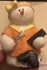Sarah's AtticSnowonders Curly 8085 Snowman