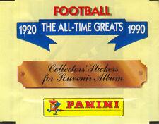 Pochette Panini 1920 The All Times Greats 1990