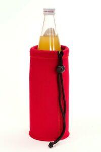 Flaschenkühler Neopren 1,0 Liter rot