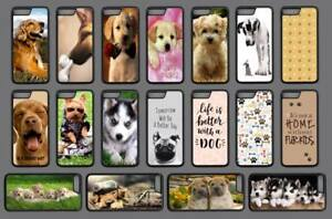DOG CUTE PUPPY QUOTE Phone Case Cover Black Hard Back iPhone 4 5 SE 6 7 8 X