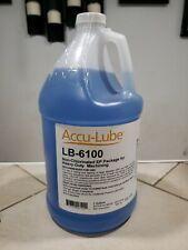 Accu Lube Lb 6100 1 Gallon Premium Heavy Duty Metalworking Lubricant