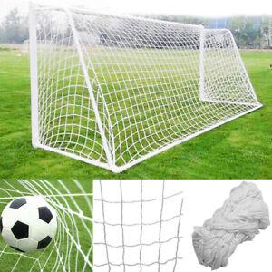 12 X 6FT Football Soccer Goal Post Net Sports Training Replace Net Practice TQ