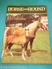 HORSE and HOUND - PONY BREEDING - MARCH 25 1983