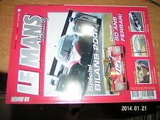 Le Mans Racing HS n°2 Bilan 2007 60 ans de Ferrari Pescarolo VHC