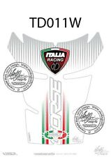 Ducati 848 / 1098 / 1198 Tank Pad Blanco (td011w)