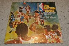 Vintage 25 Action Years - 25th Anniversary NBA LP Record - With Chris Schenkel