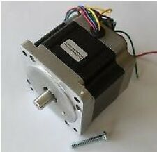"""Stepping Motors (Also called Stepper Motors) 651 oz-in 1/2"""" dual shaft"""