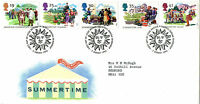 2 AUGUST 1994 SUMMERTIME ROYAL MAIL FIRST DAY COVER BUREAU SHS