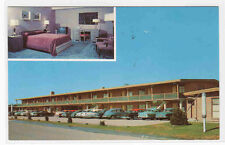 Park Hill Motor Hotel Motel Cars Denver Colorado 1966 postcard