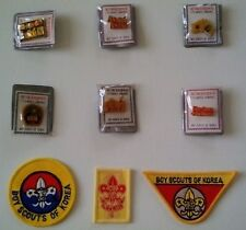 1991 World Boy Scout Jamboree (Korea) Pin Set