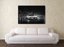 Nissan GTR Wallpaper 30x20 Inch Canvas - Framed Picture Poster Print