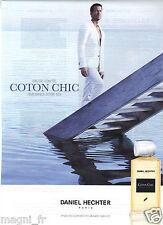 Advertising 2013 - Daniel Hechter Paris - Cotton Chic - Eau de Toilette
