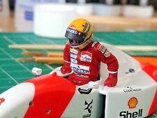 1/43 Ayrton Senna 1993 McLaren MP4/8 figurine figure Getting into the cockpit