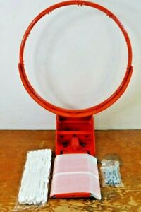 BA32-00 Bison Basketball Rim Hoop Heavy-Duty Side Court Flex Goal NEW