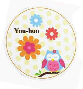 OWL BLOSSOM PARTY Invitations with Envelopes Invites Pack of 8 Free Postage