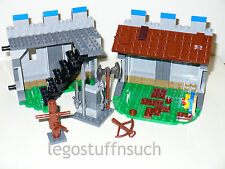CUSTOM Lego King's Castle Wall extension modular ladder stairs armory training