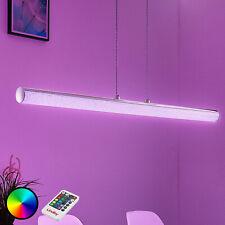 LED-Pendelleuchte Fria Balken Kristallin Lampenwelt Zylinder Esstisch Hängelampe