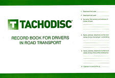 Tachodisc Driver Log Book,TS15, From the Uk's Number one Tachograph specialist!
