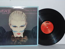 VISAGE Fade To Grey The Singles Collection LP Vinyl Steve Strange Midge Ure VG+