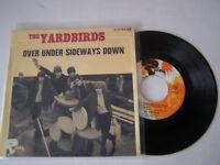 EP 4 TITRES VINYLE 45 T , THE YARDBIRDS , OVER UNDER SIDEWAYS DOWN . VG / VG +
