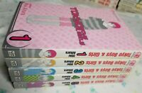 Tokyo Boys and Girls ( Vol, 1- 5) English Manga Graphic Novels SET Shojo