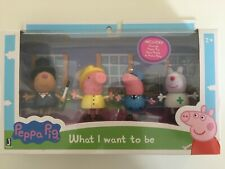 Peppa Pig When I Grow Up What I Want to Be 4-Figure Pack New!